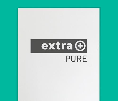 extra plus pure briefbogen mit pantone hks. Black Bedroom Furniture Sets. Home Design Ideas