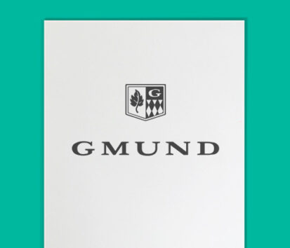 Sonderfarbendruck-Briefpapier-Gmund