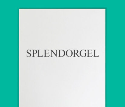 Sonderfarbendruck-Briefpapier-Splendorgel