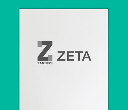 Zeta matt Briefbogen