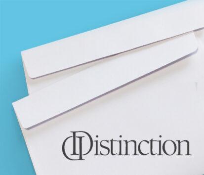 Sonderfarbendruck-Umschläge-Distinction