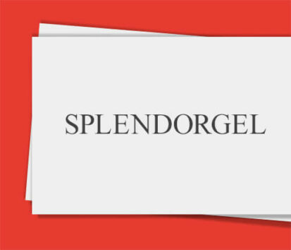 Sonderfarbendruck-Visitenkarten-Splendorgel