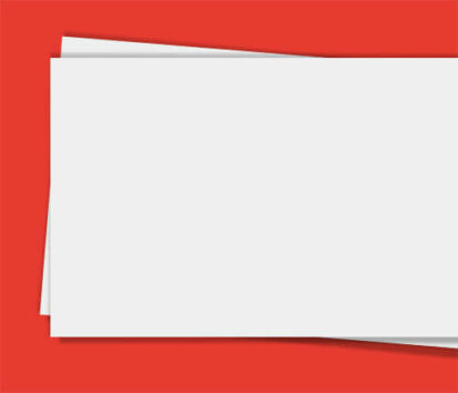 Sonderfarbendruck-Visitenkarten-Standard