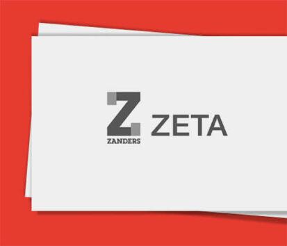 Sonderfarbendruck-Visitenkarten-Zeta